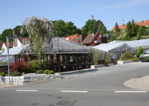Gärtnerei Wenzel / Seiteneingang